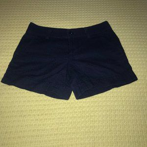 Lilly Pulitzer Navy Shorts Sz 00